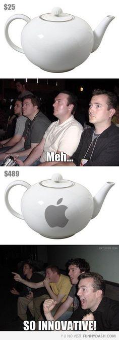 So You Put The Tea, In The Tea Pot! Genius!