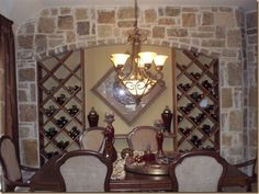 INTERIOR STONE WALLS Furniture Decor, Cozy, Dining, Mirror, Interior Design, Cool Stuff, Stone Walls, Basement Ideas, House