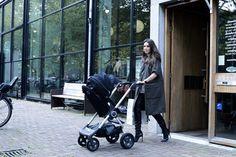 Modern Baby Stroller |  LUXURY | STOKKE STROLLER | BLACK