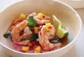 Shrimp and Mango Ceviche
