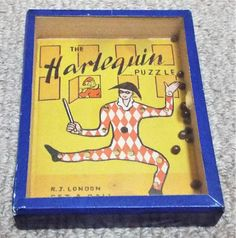 Harlequin Vintage Dexterity Puzzle Game R. Puzzle Games, Game R, Wooden Frames, Puzzles, The Originals, Handmade, Vintage, Wood Frames, Puzzle