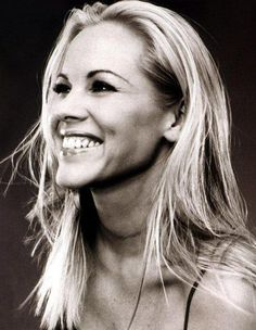Maria Bello, for all her beauty and for all she does. Role model material!