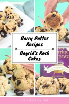 Harry Potter Recipes | Hagrid's Rock Cakes. Delicious and not rock-hard like Hagrid's.