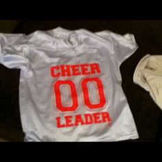 Awesome cheerleader jersey