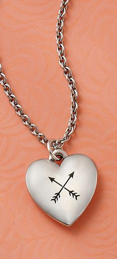 Valentines Collection 2016 - Heart Charm (shown with engraving) #JamesAvery