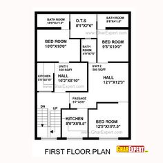 House Plan For 32 Feet By 40 Feet Plot Plot Size 142