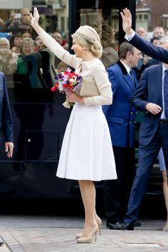 Queen Maxima of the Netherlands May 6, 2014