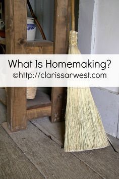 What does homemaking mean to you? http://www.clarissarwest.com/2015/03/what-is-homemaking.html