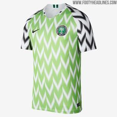 2018 World Cup Nigeria Home Soccer Jersey Shirt sale Football Team Kits, Soccer Kits, National Football Teams, Football Jerseys, Sports Jerseys, Nike Football, World Cup Jerseys, Soccer World, World Cup 2018