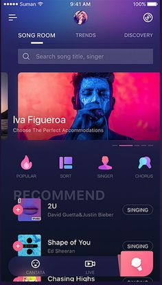 Justin Bieber Singing, Ios App Design, 100 Songs, Web Design Tutorials, Mobile Ui, City Life, Life Photography, Tik Tok, Apps