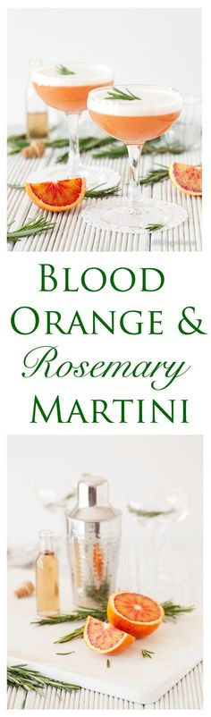 The Blood Orange Martini is a fresh combination of sweet, slightly bitter fruit juice, rosemary & Campari. With an air of old-fashioned grandeur brought about by the egg white foam this is one sleek, silky drink to linger over.