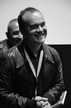 Oskar Alegría, director de EMAK BAKIA BAITA (LA CASA EMAK BAKIA). Presentación en la Sala B de la Filmoteca de Murcia (08/03/2013)