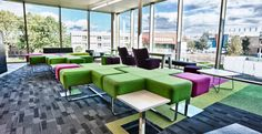 Salford University's revamped Chapman Building (Godfrey Syrett furniture)
