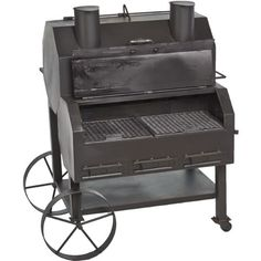 Image for Old Country BBQ Pits Over and Under Smoker from Academy