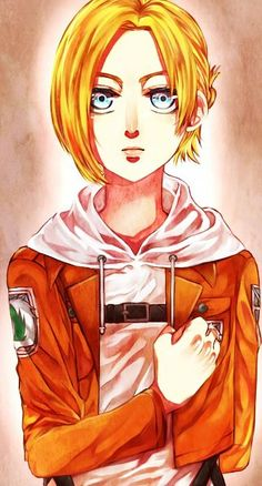 Tags: Anime, Pixiv Id 8106048, Shingeki no Kyojin, Annie Leonhardt