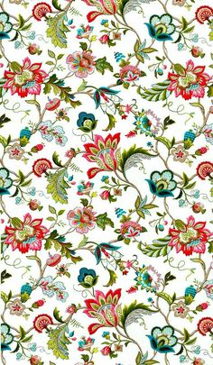 Hand painted flowers background decoration PNG and Clipart Design Textile, Textile Patterns, Print Patterns, Textiles, Deco Floral, Motif Floral, Floral Prints, Pattern Art, Pattern Design