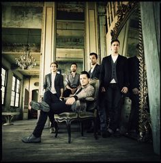 groomsmen pose... (also known as a band called O.A.R. in this example)