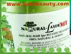 NATURAL-LAXER MIX is a 100% Natural and Chemical-Free Natural Hair Relaxer. Natural Hair Spa, Natural To Relaxed Hair, Natural Hair Growth, Natural Hair Styles, Relaxer, Hair Repair, Herbalism, Hair Color, Free