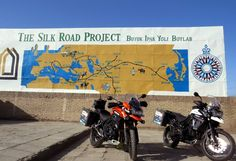 If you're prepared to face up to the challenges, then Central Asia could be the adventure bikers paradise! Silk Road, Central Asia, Trekking, Motorcycle, Adventure, How To Plan, Bikers, Paradise, Challenges