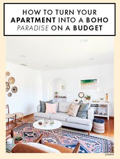 In a sun-washed, Spanish-style California home, Homepolish designer Haley Weidenbaum collaborated with Sheeva Sairafi, founder of Local + Lejos, to craft a home decorated with a world of artisanal goods. Eclectic Living Room, Eclectic Decor, Living Room Decor, Living Rooms, Living Spaces, Diy Home Decor On A Budget, Cheap Home Decor, House With Balcony, Interior Design Portfolios