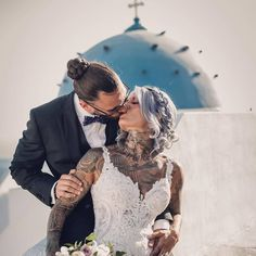 OMG this couple captured by is simply gorgeous 😍 do you Agree? Swipe left 👈 to see their love story ❤️ Video: Planning & Styling: Catering: Venue: Florals: Hair: Marios Restaurant, Love Couple, Couple Photography, Love Story, Santorini, Couples, Daily Inspiration, Wedding Dresses, Catering