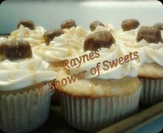 Twix Cupcakes Caramel Flavored