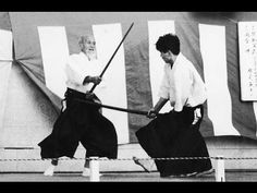 The Morihei Ueshiba Biography: From Sumo to Aikido Aikido Martial Arts, Aikido Techniques, Marshal Arts, Peace Art, Martial Artist, Kendo, Boxing Workout, Outdoor Art, Documentary Film
