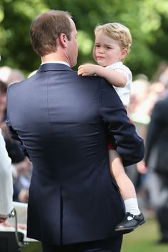 Prince William and Prince George - CountryLiving.com