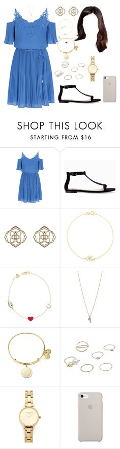 """IT (night/dinner/home)"" by ittgirl ❤ liked on Polyvore featuring Zara, Kendra Scott, Jennifer Meyer Jewelry, Alison Lou, Minor Obsessions, Alex and Ani, MANGO and Olivia Burton"