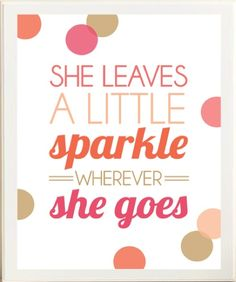 Follow us and Sparkle!  www.TheShoppingBagStore.com