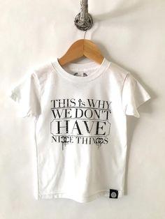 iiixkids Nice Things? - white american apparel kids tshirt