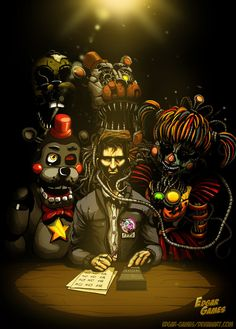 FNAF one of the scariest ones! Fnaf 5, Anime Fnaf, Markiplier Fnaf, Funny Fnaf, Fine Night At Freddy's, Fnaf Wallpapers, Fnaf Characters, Freddy 's, 2 Kind