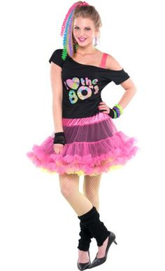 Totally u002780s Theme Party - 80s Party Supplies - Party City. Halloween Costume ...  sc 1 st  Pinterest & The 26 best 80s Shit images on Pinterest | 80s prom dresses 80s ...