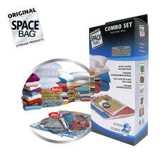 Bekend van TV: Space Bags Combo (6-Delig) Bag, Sous Vide