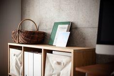 #I様邸検見川浜 #ワークスペース #本棚 #インテリア #EcoDeco #エコデコ #リノベーション #renovation #東京 #福岡 #福岡リノベーション #福岡設計事務所 Wicker Baskets, Magazine Rack, Cabinet, Storage, Furniture, Home Decor, Clothes Stand, Purse Storage, Decoration Home
