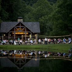 Friday night dinner at the Garden & Gun Secret Society Weekend at Blackberry Farm in Walland, Tennessee. #GardenandGun Photo Credit: Brennan Wesley