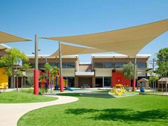 Located in Glendale, California, the 23,000 square-foot childcare facility is designed to accommodate 236 children between infant and Pre-K ages.  The sustai...