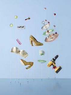 """Objetos parecem """"voar"""" nas fotografias (Foto: Carl Kleiner)"""