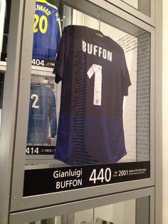 Juventus Museum-Maglia di Gianluigi Buffon