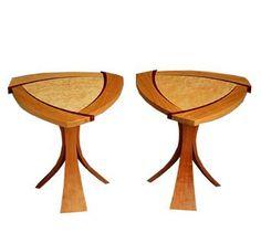 Modern Side Tables by Jeffrey Hunt Woodworking