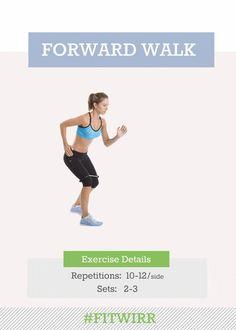 Forward band walk