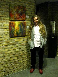 Wystawa w Domiziano, Piazza Navona, Rzym...KRZYSZTOF ŁOZOWSKI...FINE ART PROFESSIONAL....