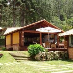 Casa de Campo em Araras: Casas rústicas por Cadore Arquitetura
