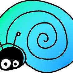 Hiding Snail Doodle by Nalinne Jones, shirts, mugs, school supplies, tablet covers, cell phone cases!