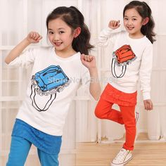 Cheap Clothing Sets, Buy Directly from China Suppliers:          2015 SPring 2 Pieces Children Clothes Sets T shirt and Pant Clothing Sets Ring Character Kids Little