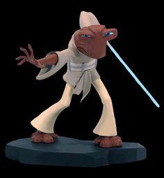 Roron Corobb animated maquette Star Wars Gentle Giant