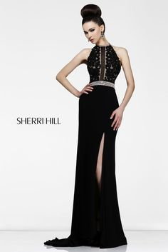 2013 Sherri Hill 21210 Black Homecoming Dresses