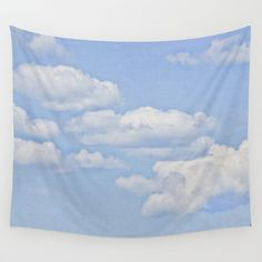 Buy Clouds by Pure Nature Photos as a high quality Wall Tapestry. Worldwide shipping available at Society6.com. Just one of millions of products available.