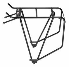 installed on both bikes, the Classic - solid piece from Tubus