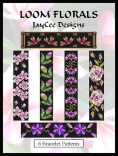 Hey, I found this really awesome Etsy listing at https://www.etsy.com/listing/399441785/loom-florals-ebook